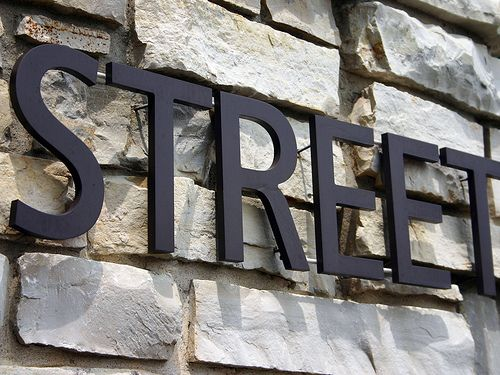 Metal Letters For Outdoor Signs Order Metal Letters Now  Solid Cut Metal Sign Letters  Impact