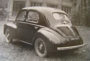 1945 Renault 4cv prototype