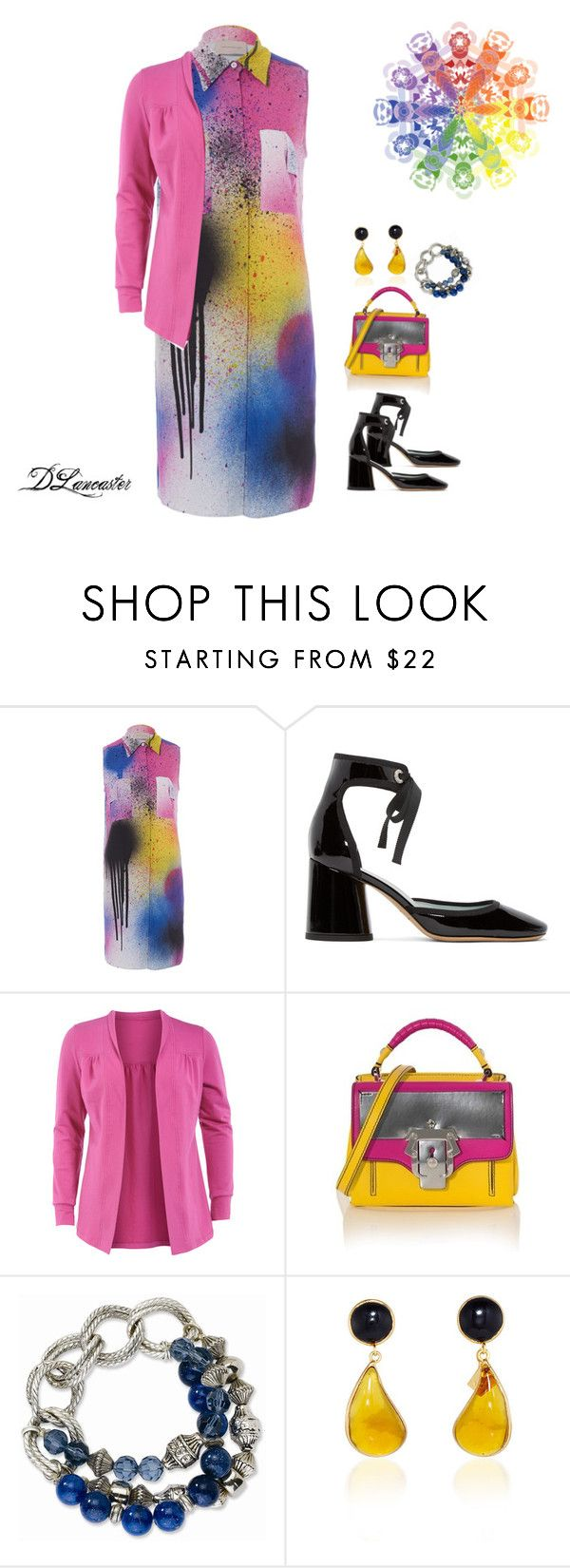 """""""Color Splash!"""" by diane-711 ❤ liked on Polyvore featuring Christopher Kane, Marc Jacobs, Manon Baptiste and Paula Cademartori"""