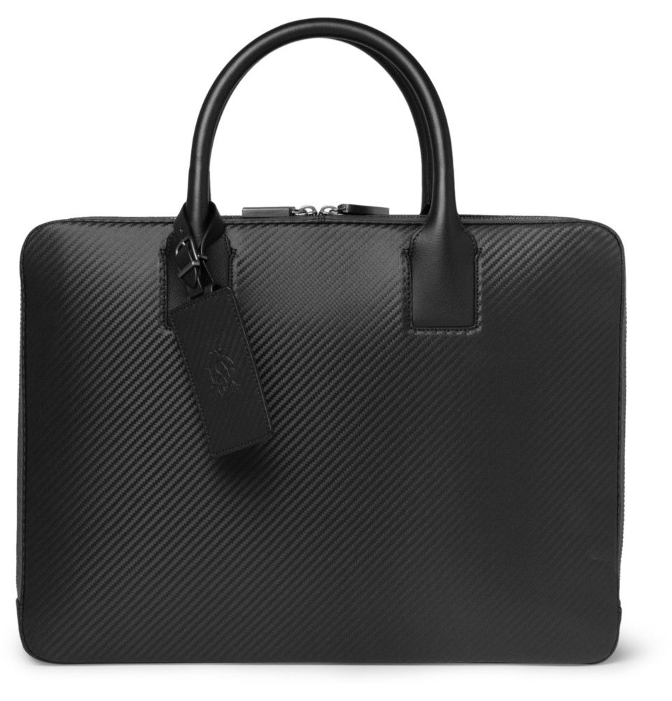 943d8b89ab Dunhill Chassis Leather Briefcase
