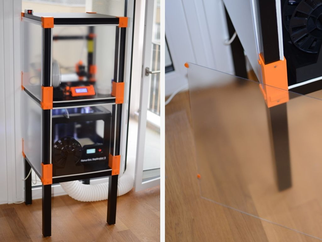 Ikea+Lack+Printer+Enclosure+by+LKM. Prints