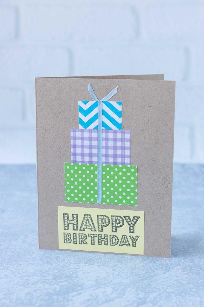 10 simple diy birthday cards in 2020  simple cards