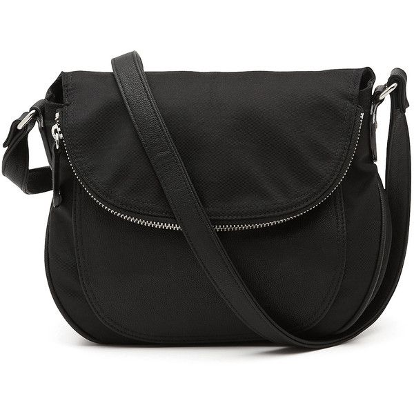 Witchery Jayley Crossbody Nylon Bag 61 Liked On Polyvore Featuring Bags Handbags Shoulder Black