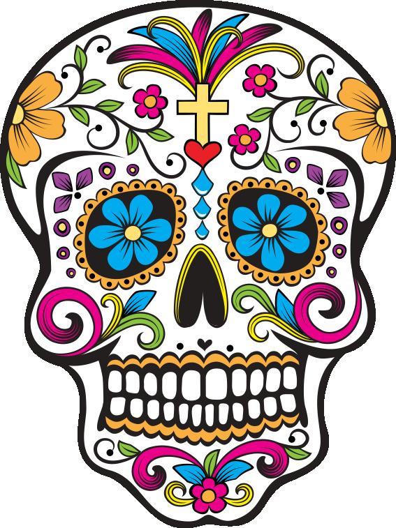 Estampa para camiseta Caveira Mexicana 000099  66927d9c089