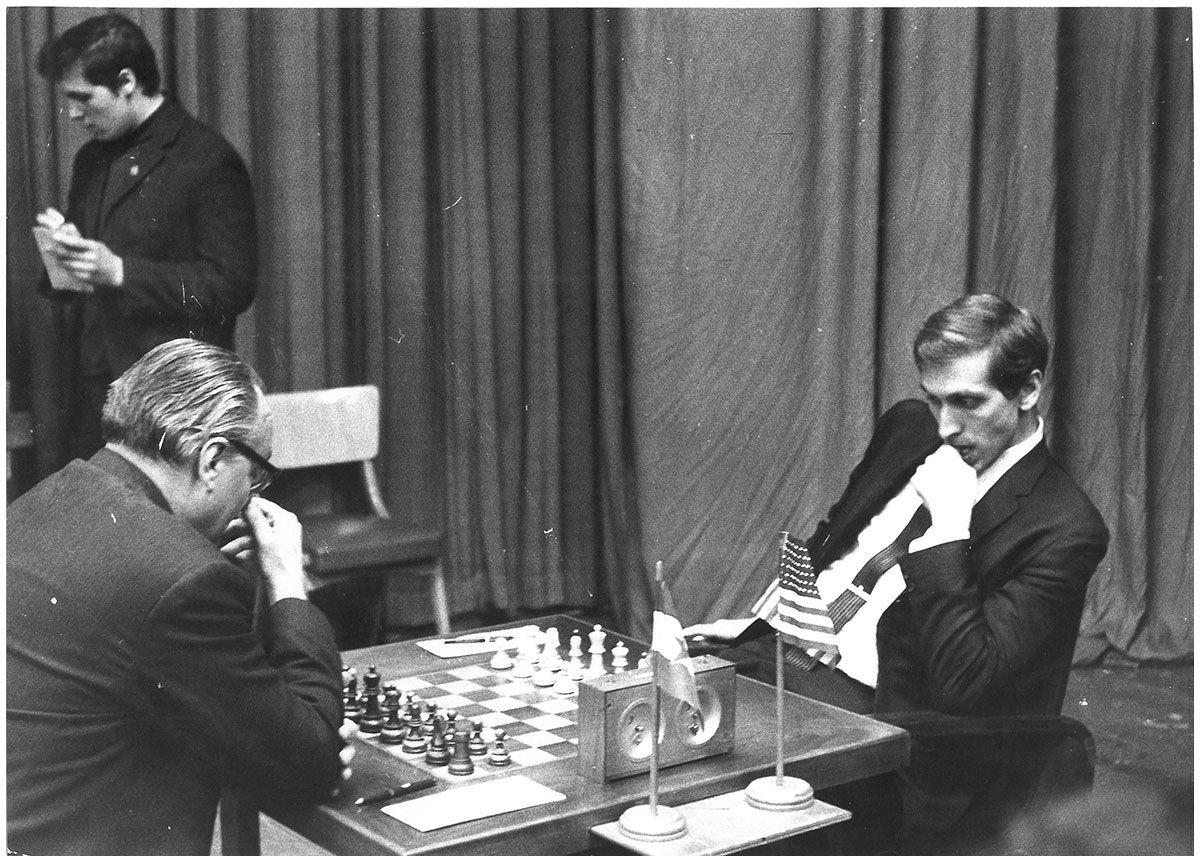 Fischer Vs Udovcic Zagreb Tournaments Chess Board