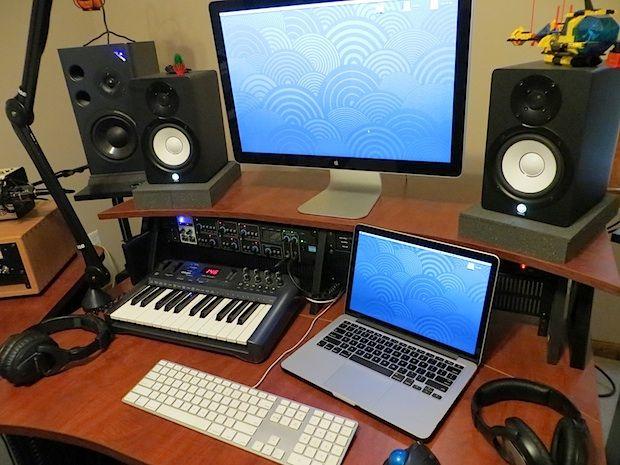 mac pro audio production studio setup mac for musician in 2019 home recording studio setup. Black Bedroom Furniture Sets. Home Design Ideas