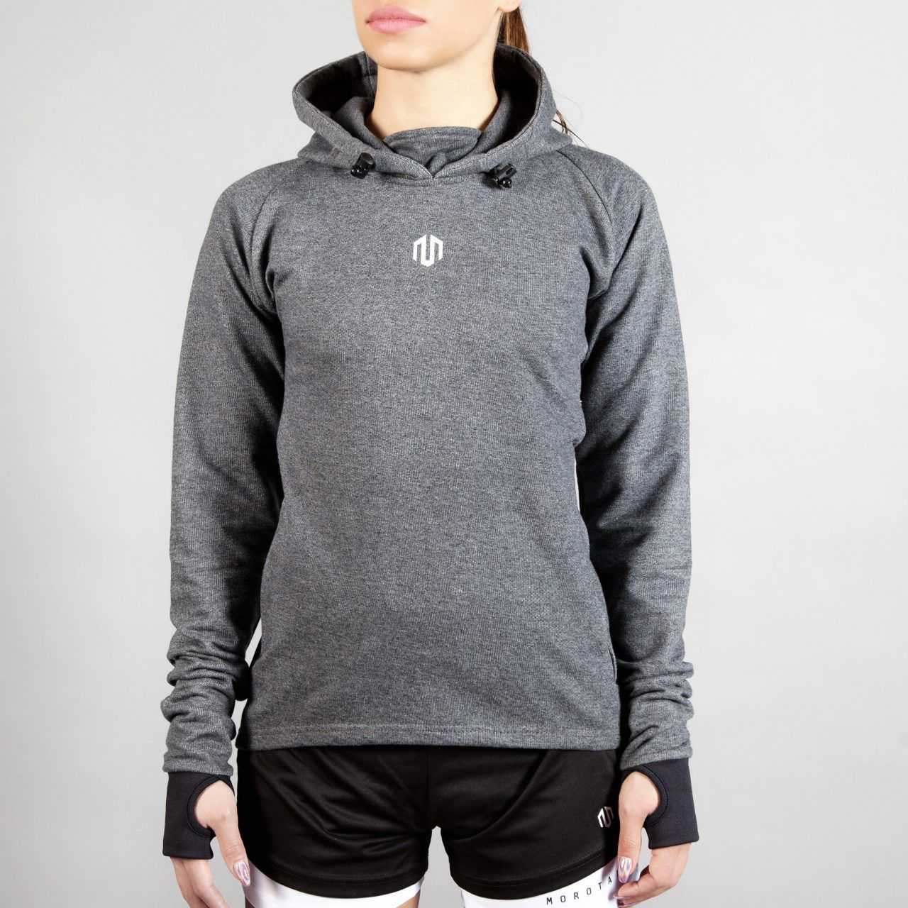 NAKA Comfy Performance Hoodie Grey #grey #hoodie #fashion #gym # fitness #gymwear #fitnesswear #gymclothes #womenswear #sporty #sport #sportswear