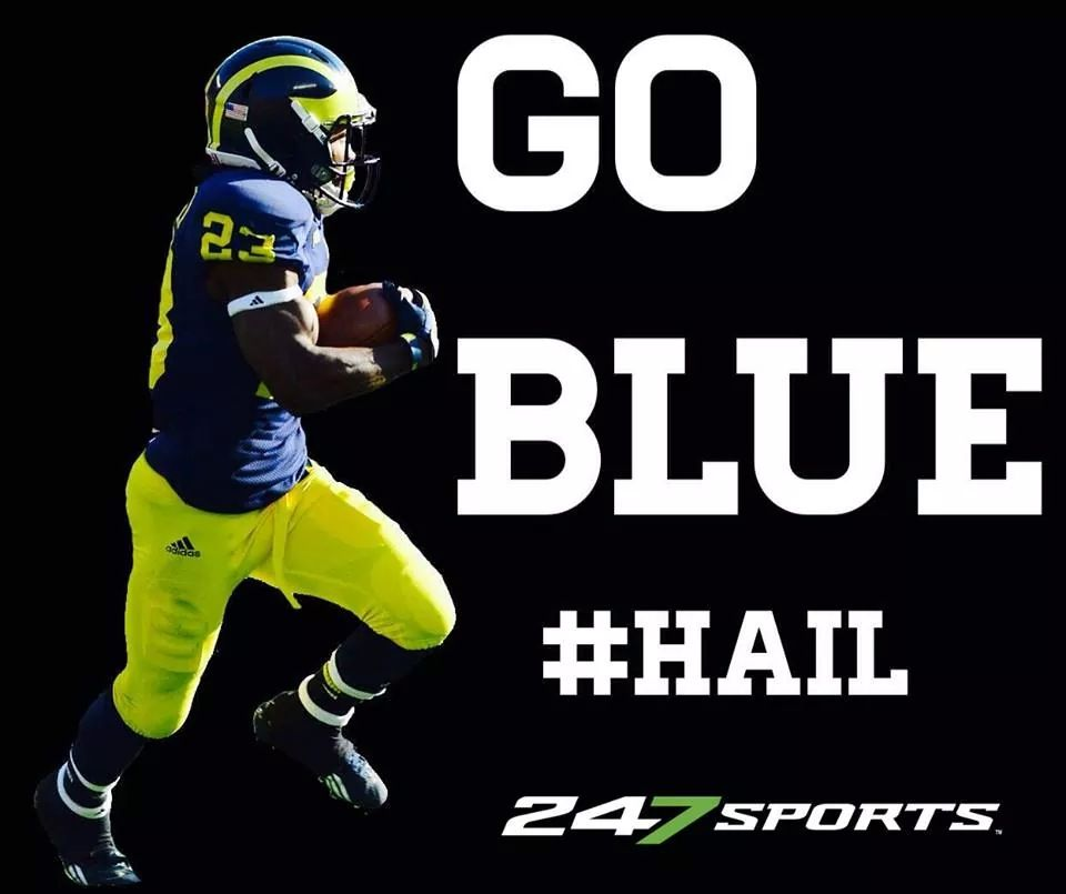 Tmore Image By Chase Tyler Michigan Football Michigan Sports