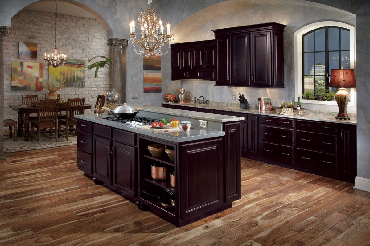 Waypoint Kitchen Cabinets Comfort Mats Living Spaces Style 510 In Maple Espresso