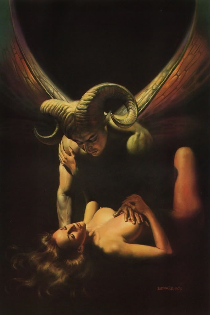 Sexual sex with and incubus