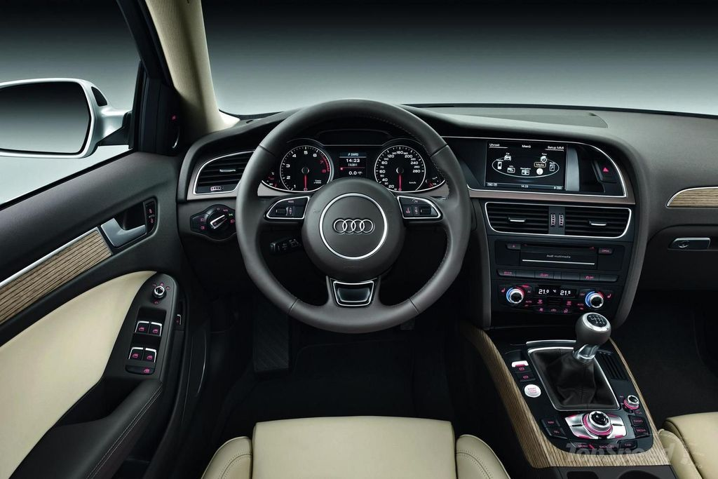 Marvelous Audi A4 2015 Interior Dashboard