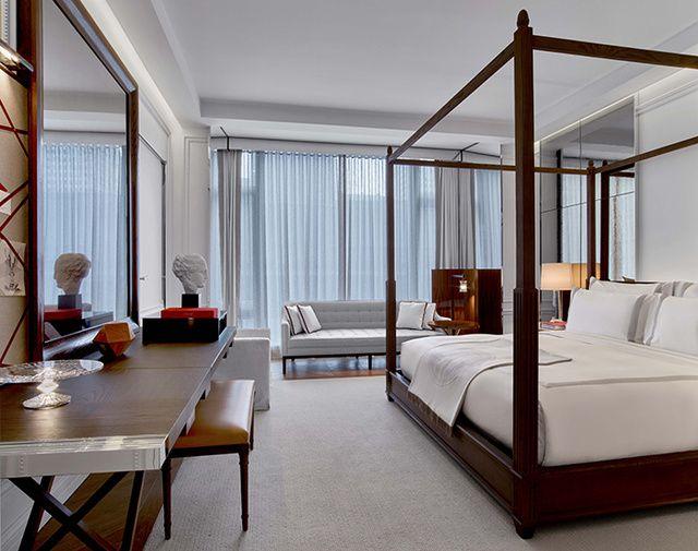L\'hôtel Baccarat à New York   Idée chambre, Gilles et ...