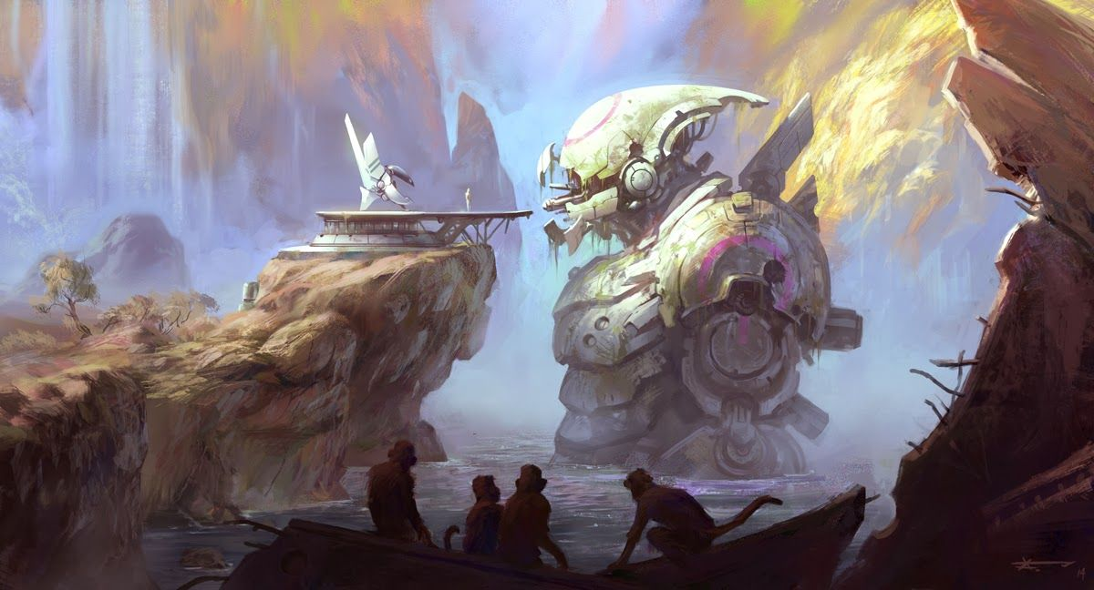the art of Artur Fast: Mecha Collab...