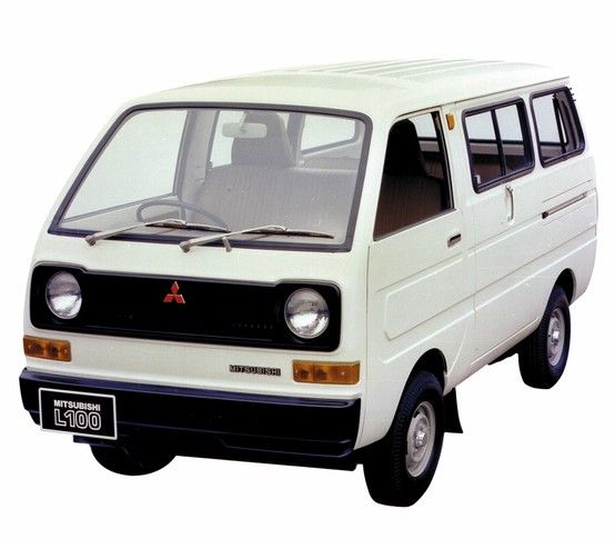 1979 L100 古い車 三菱自動車 軽バン