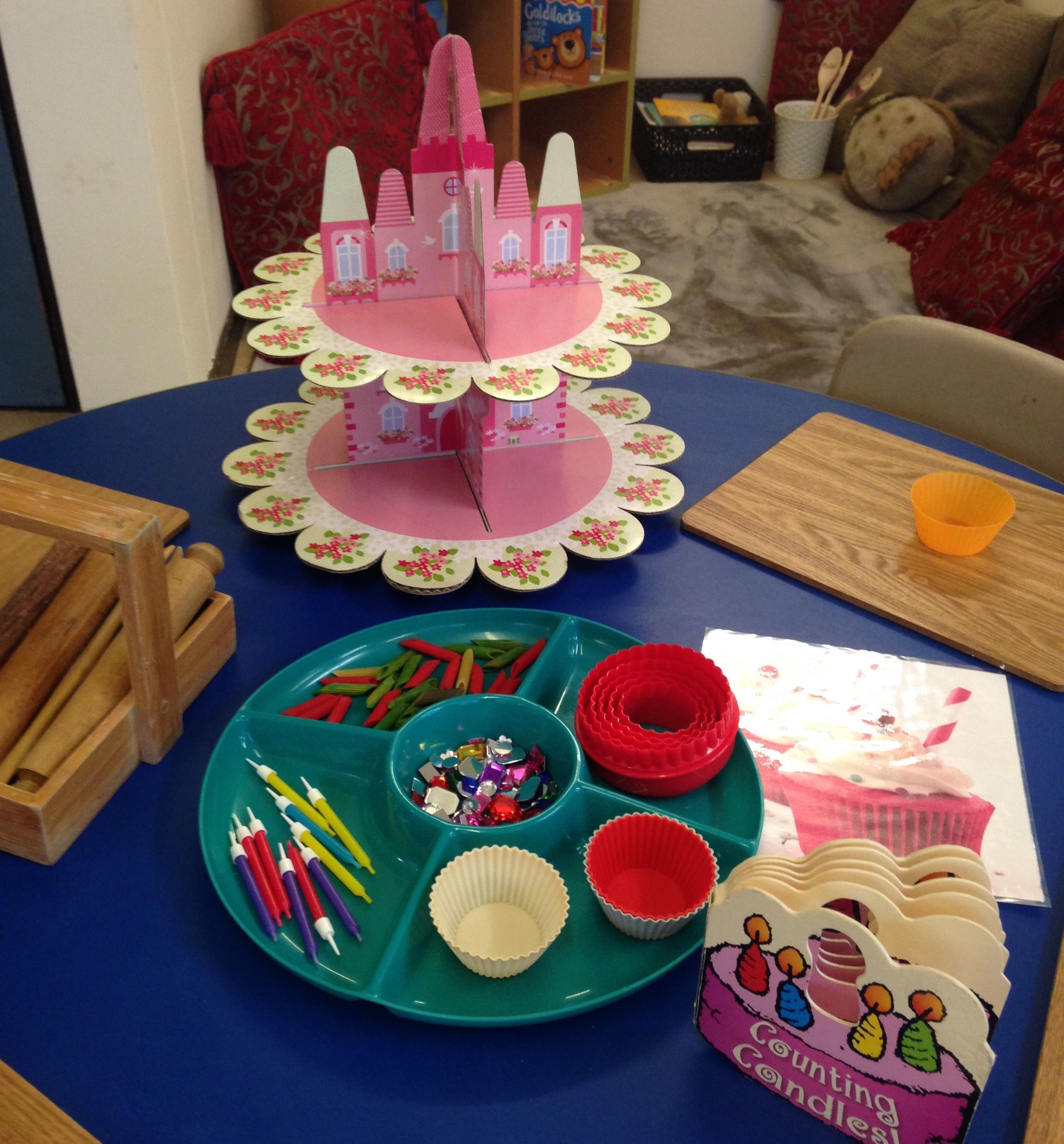 My Playdough Table During Little Red Riding Hood Week