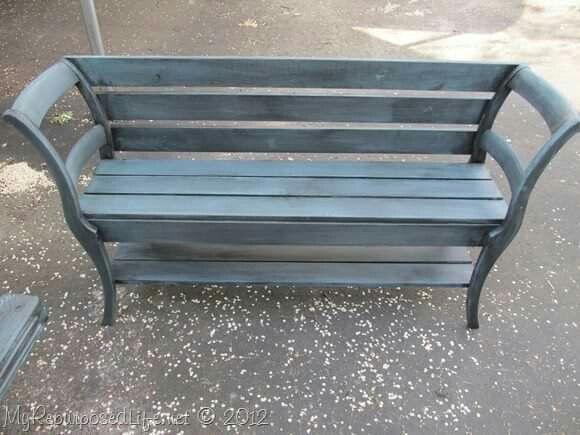 Chair bench...fave!!!