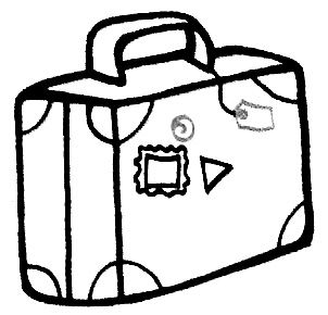 MALETA COLOREAR   Buscar con Google   printables   Drawings