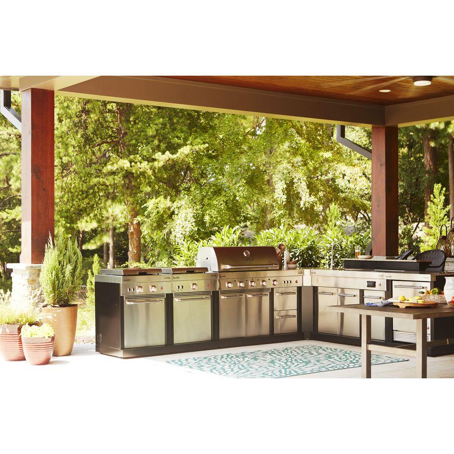 Char Broil Modular Outdoor Kitchen Medallion Modular Gas Grill Lowes Com Modular Outdoor Kitchens Outdoor Outdoor Kitchen
