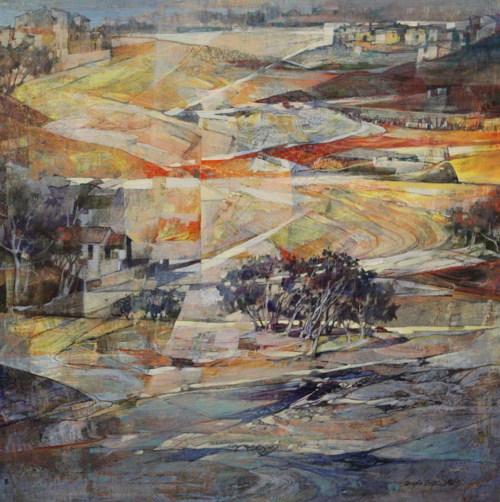 Artiste Peintre Contemporain Toulouse angelo bellini - galerie alain daudet toulouse, france