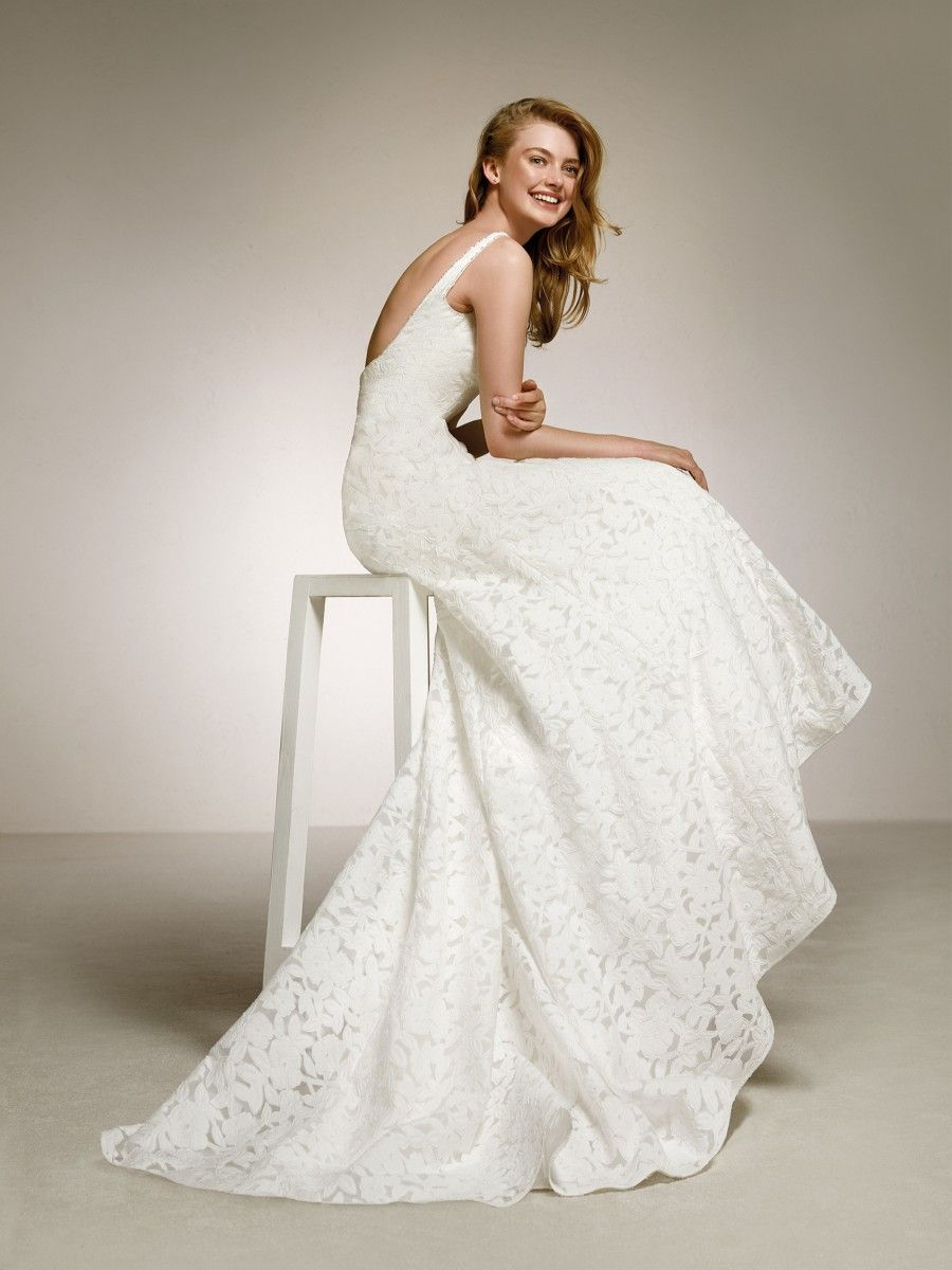 One of a kind wedding dresses  Flirty beautiful and classic all in one the Ezra wedding dress is
