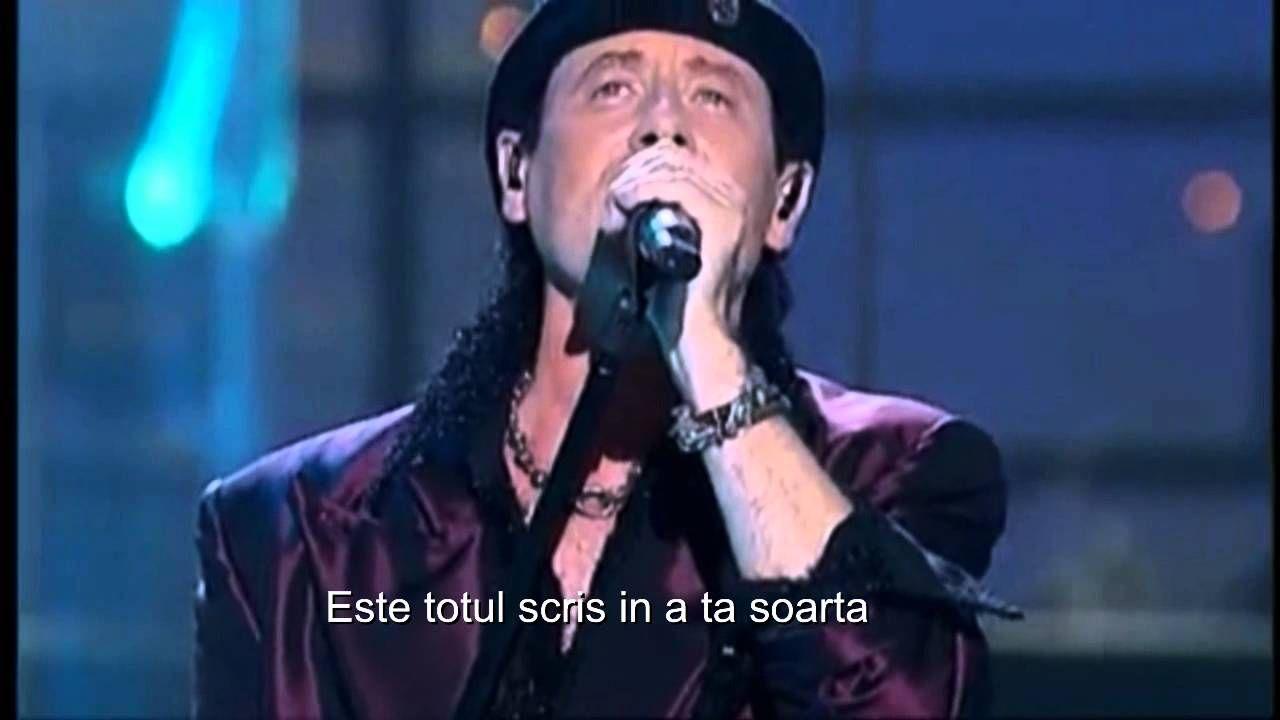 Scorpions You And I Subtitrat Tradus Romana Scorpions Live Scorpions Albums Rock Videos