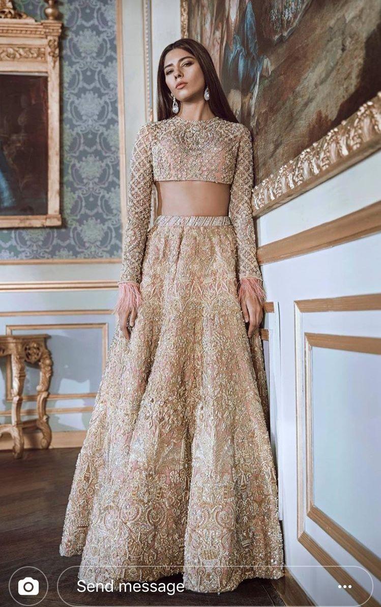 40131078ad Republic Womens Wear #goldlehenga #lehenga #indianfashion | Indian ...
