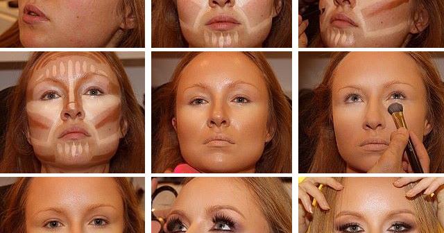 1Lindo maquillaje para cara redonda