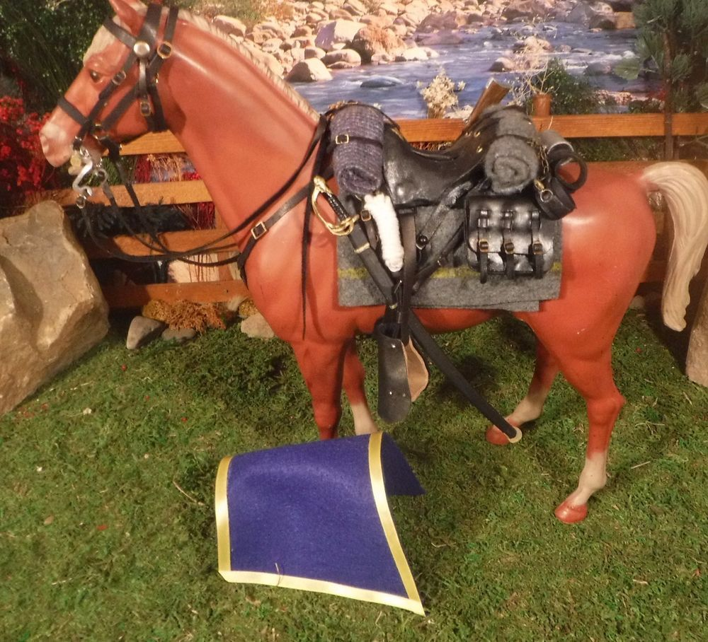 Marx CXR gold exclusive  Cavalry Gear set Johnny West Best Of The West