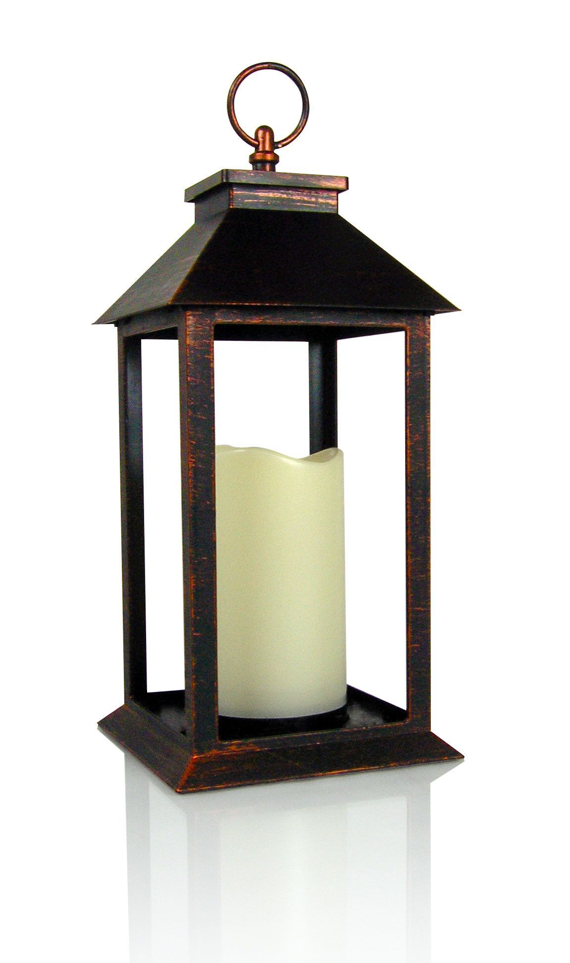 hour vintage decorative outdoor battery operated lighting itm style lanterns timer decor lantern yacool light garden hanging