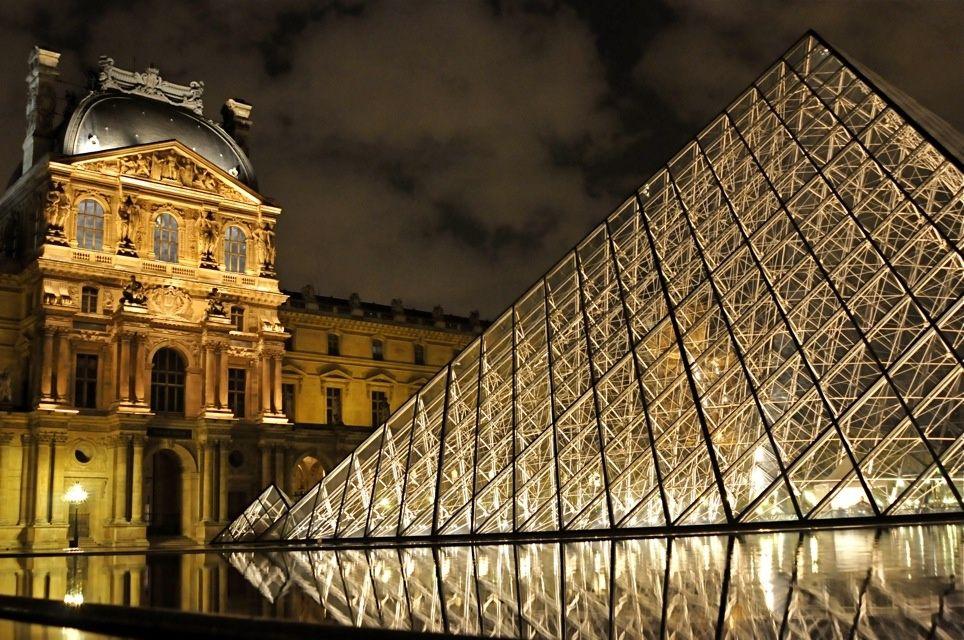 Paris (the Louvre)