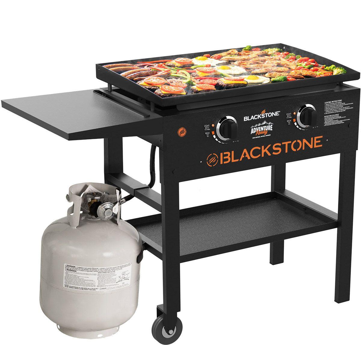 Blackstone Adventure Ready 2 Burner 28 Outdoor Griddle Walmart Com Gas Grill Griddle Grill Griddle Cooking