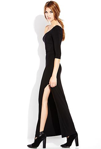Bold One-Shoulder Maxi Dress   FOREVER 21 - 2000089861 #F21CRUSH ...