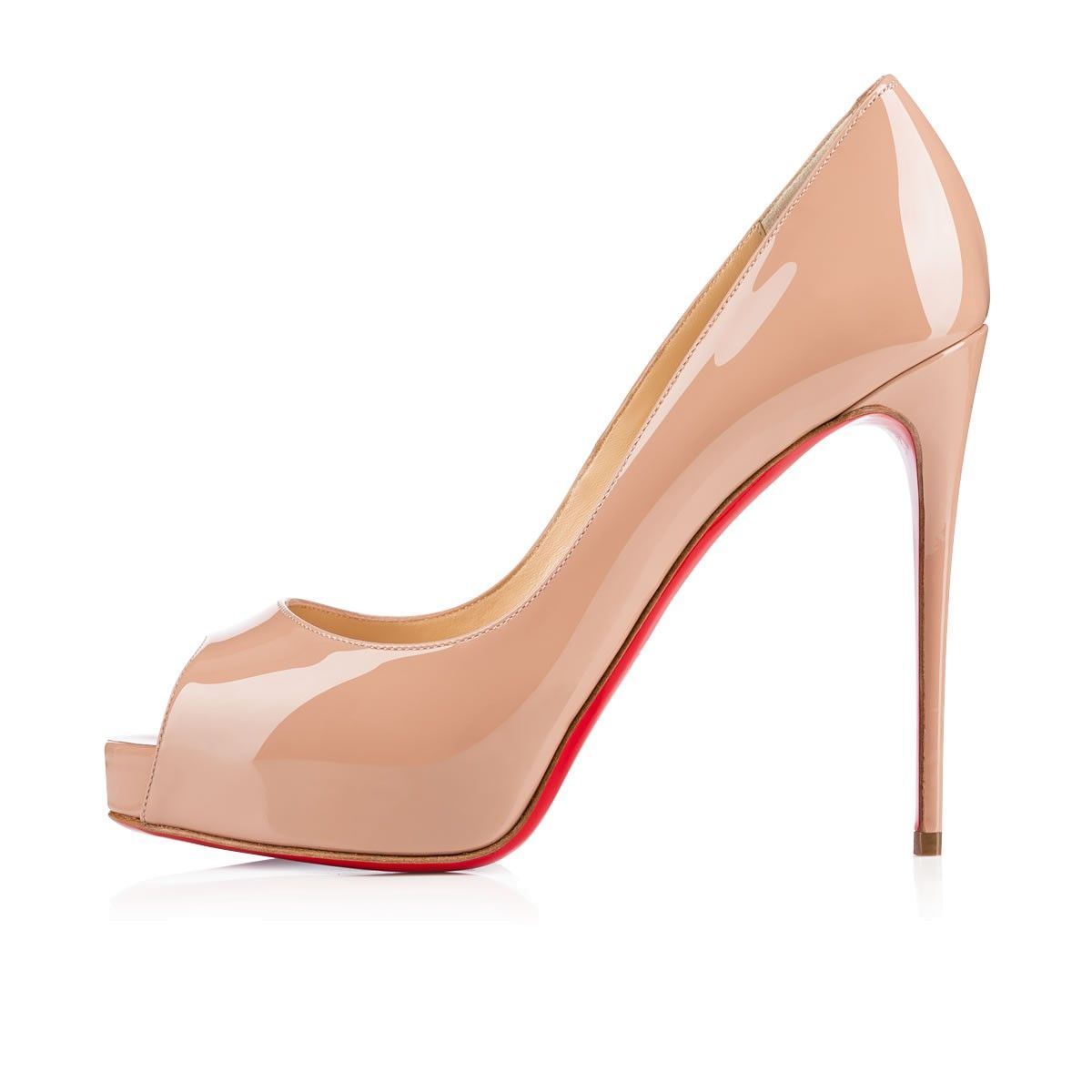 cheap for discount 2ce99 468d0 New Very Prive 120 Nude Patent Leather - Women Shoes ...