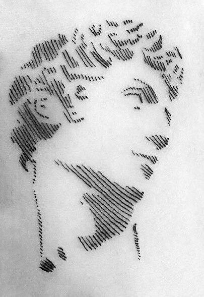 63+ Ideas for art tattoo men faces #wallart #animeart