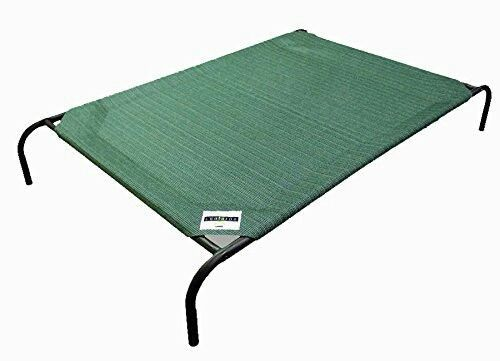 Coolaroo Elevated Pet Bed with Knitted Fabric green   Pet Supplies, Dog Supplies, Beds   eBay!