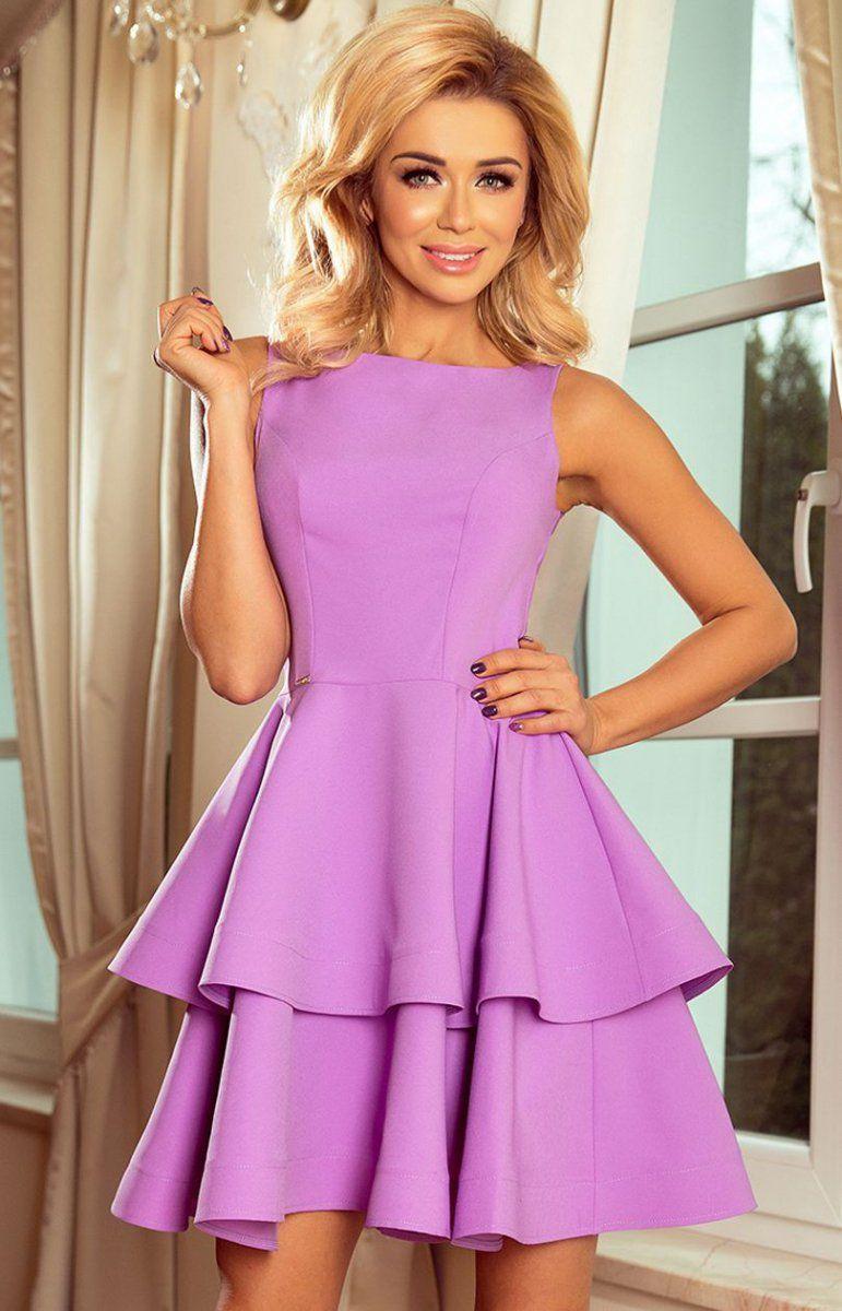 c46c82f2ef ... sukienka fioletowa - Sukienki na wesela - Sukienki rozkloszowane -  Sukienki - MODA DAMSKA - Sklep internetowy Intimiti.pl