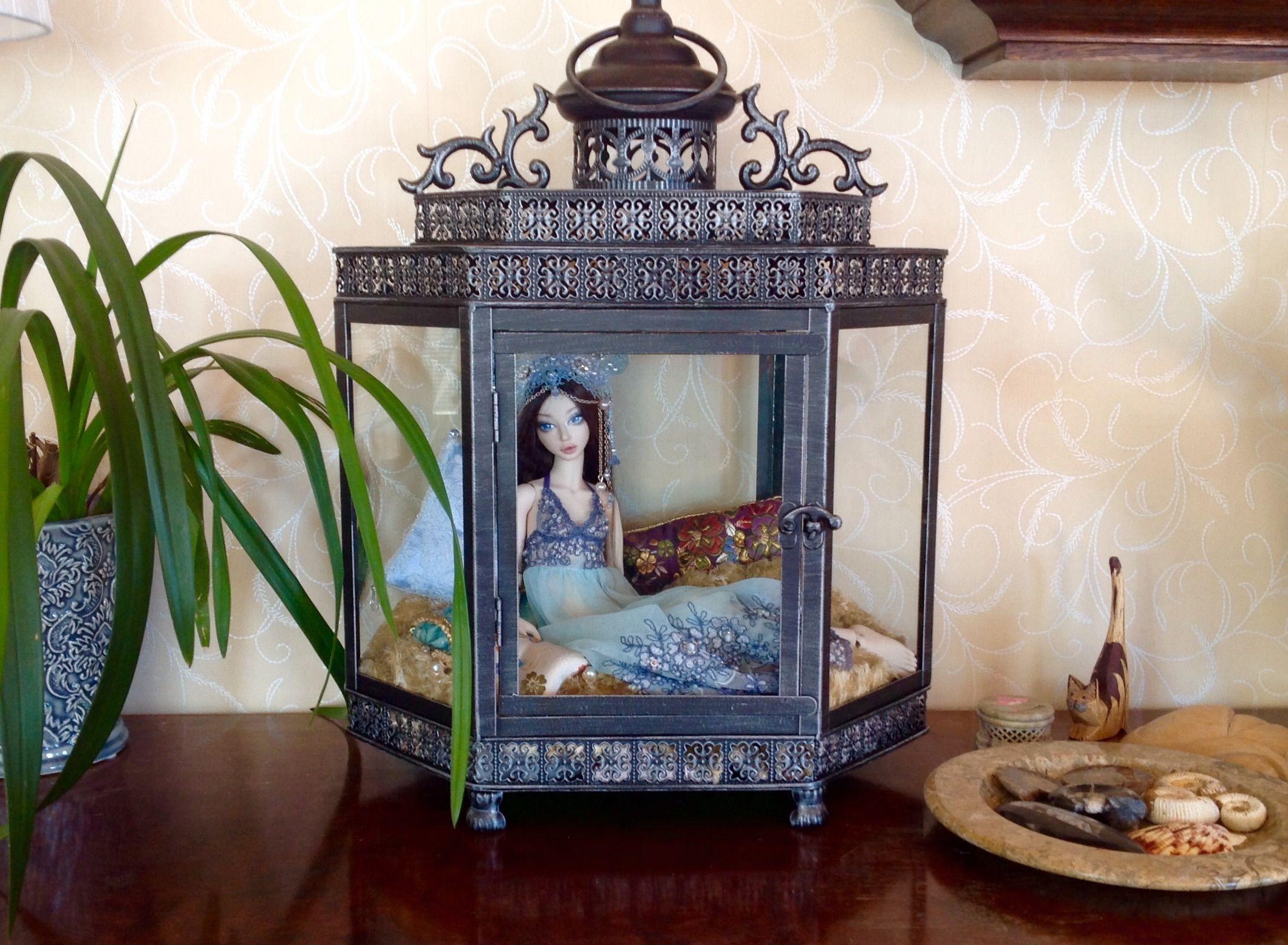 Tanja's doll in a lantern, so creative / 24