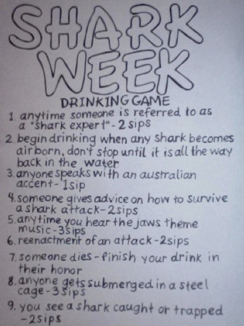 play this during shark week #yes