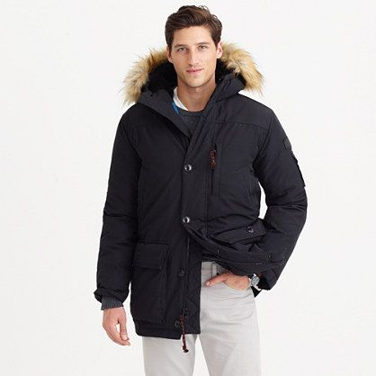 41bb494c9 J.Crew - Nordic parka | Parkas | Parka, Winter jackets, Warm coat