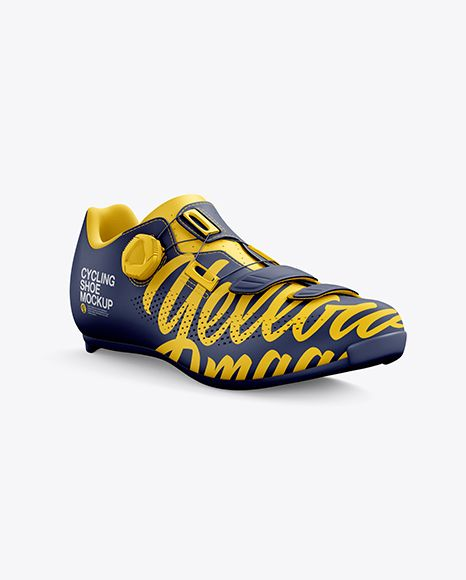Download Download Road Cycling Shoe Psd Mockup Half Side Viewtemplate In 2020 Road Cycling Shoes Cycling Shoes Mockup Psd