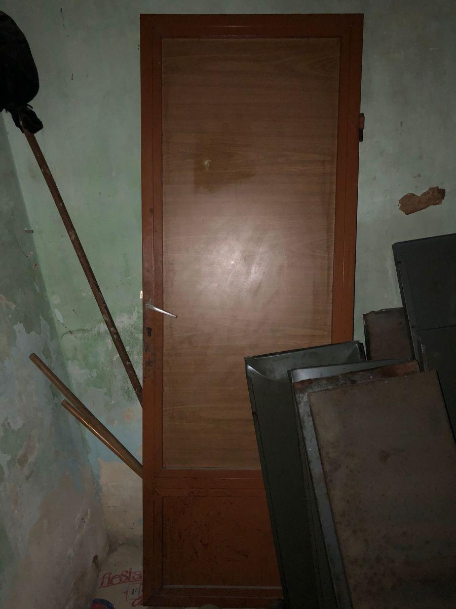 DEXION SHELVES + Warehouse door
