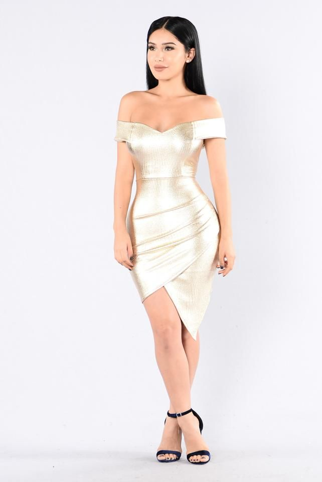 Elite Dress - Gold | Ballkleider