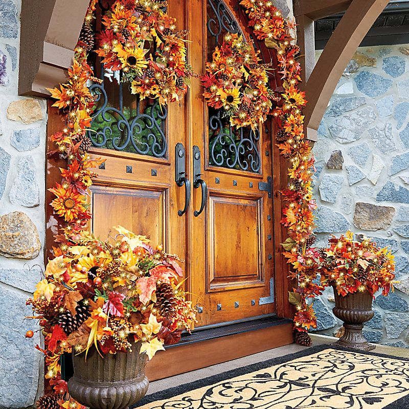 Pre-light Sunflower Collection – fall decorating ideas.