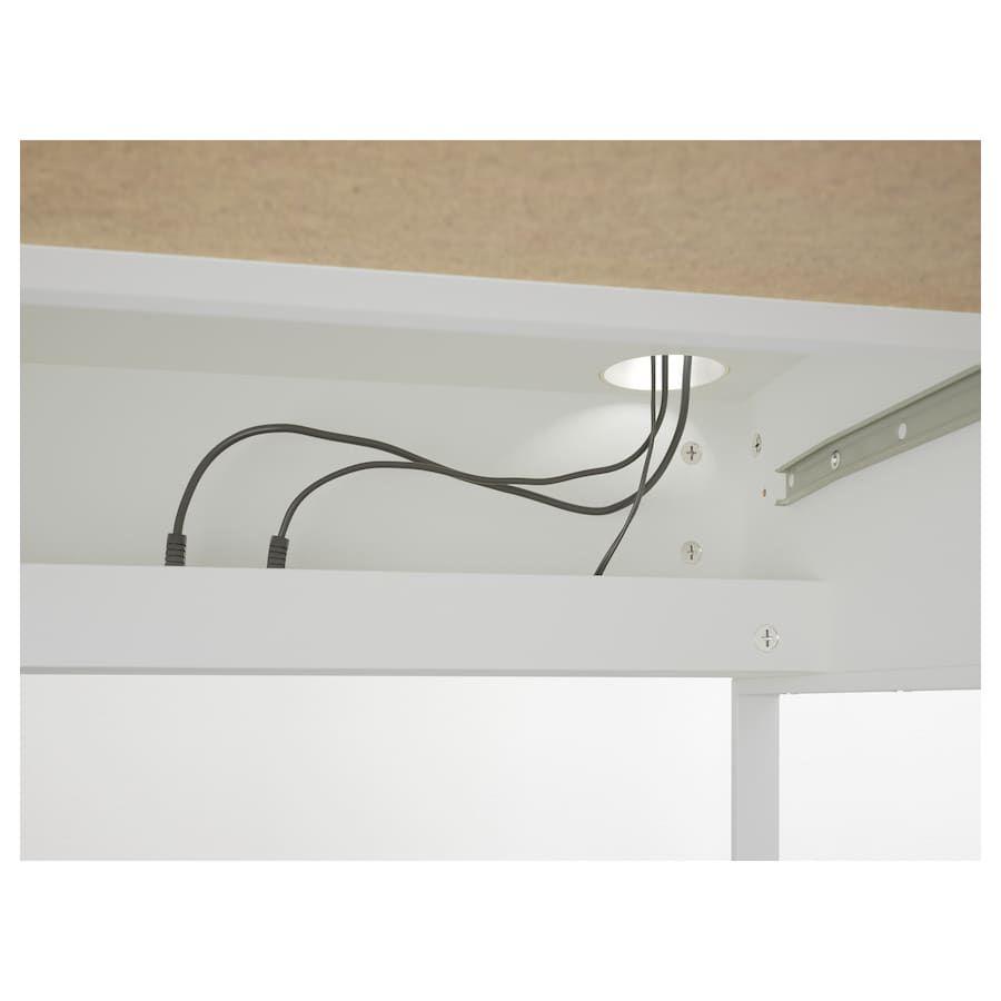 Micke Desk White 55 7 8x19 5 8 Micke Desk White Desks Ikea Micke Desk