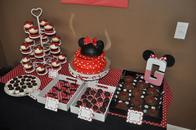 """Photo 31 of 31: Minnie Mouse / Birthday """"Genevieve's Modern Minnie Mouse Party"""" 