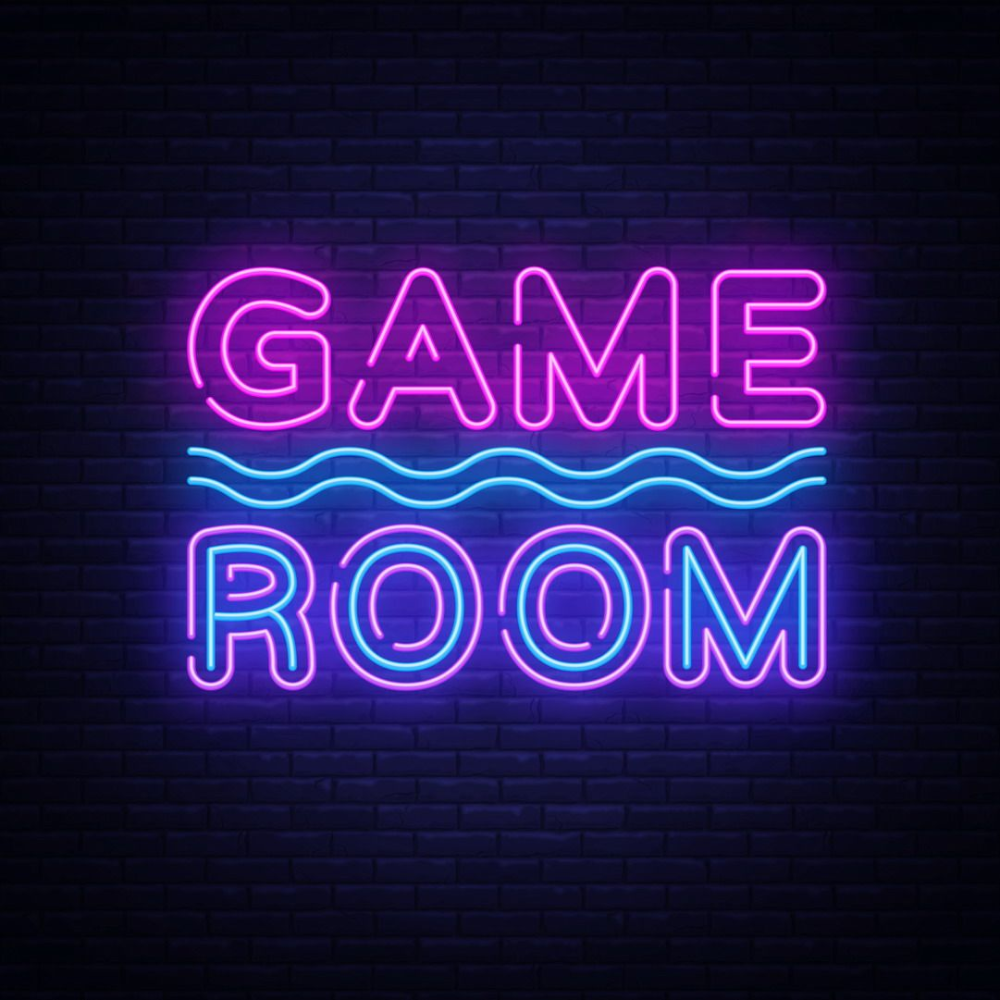 Game Room Text Led Neon Sign In 2020 Neon Signs Game Room Led Neon Signs