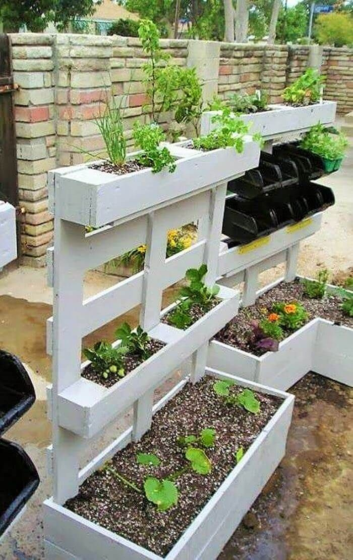 Pallet Planter Diy