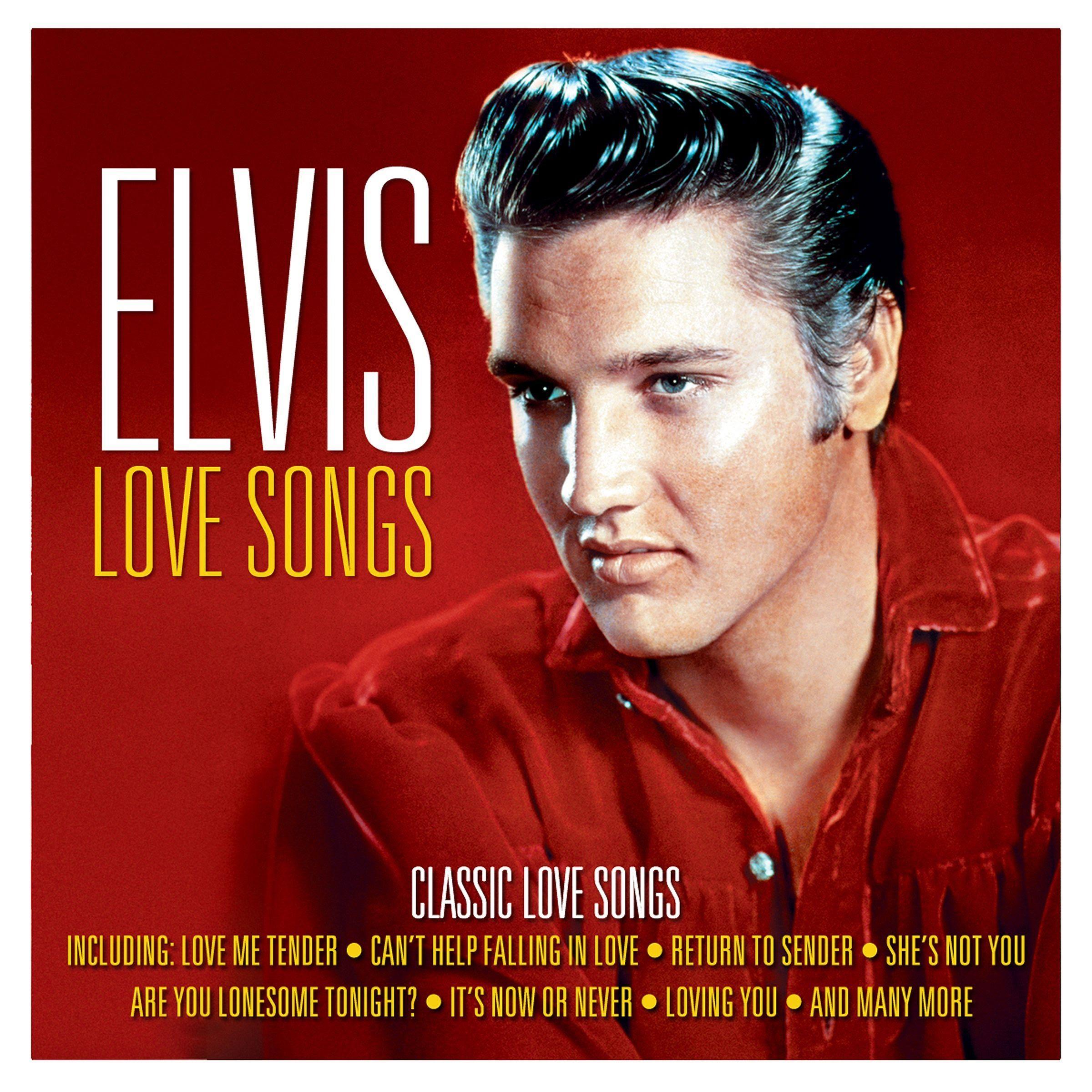 Elvis Presley Love Songs Released 20150612 on Not Now