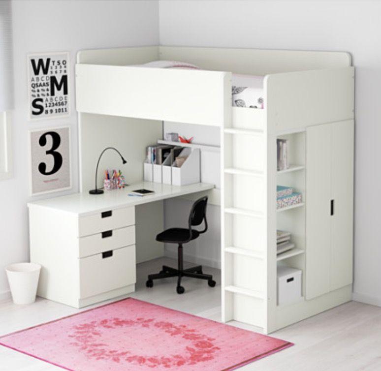 Pin By Lisa Brooks On Tween Room Ideas Ikea Loft Bed Modern