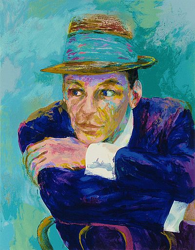I'm guessing this is Frank Sinatra, by Leroy Neiman